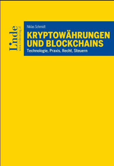 Das Buch Kryptowährungen und Blockchains von Dr. Niklas Schmidt